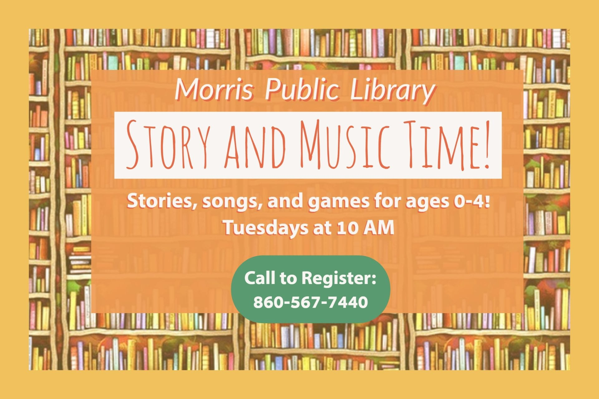 Story_Music_Time_Flyer Morris Public Library