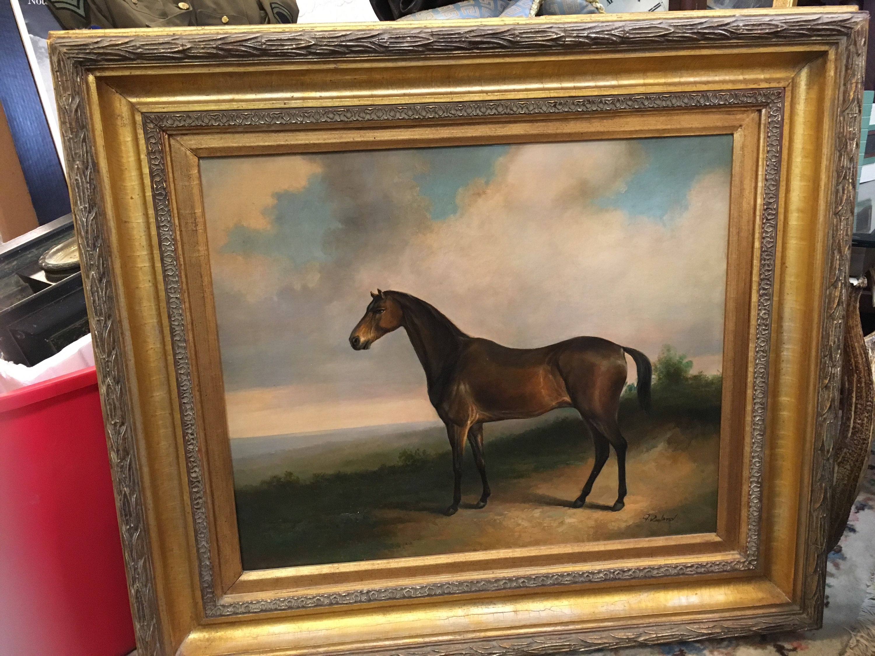 Estate Oil painting