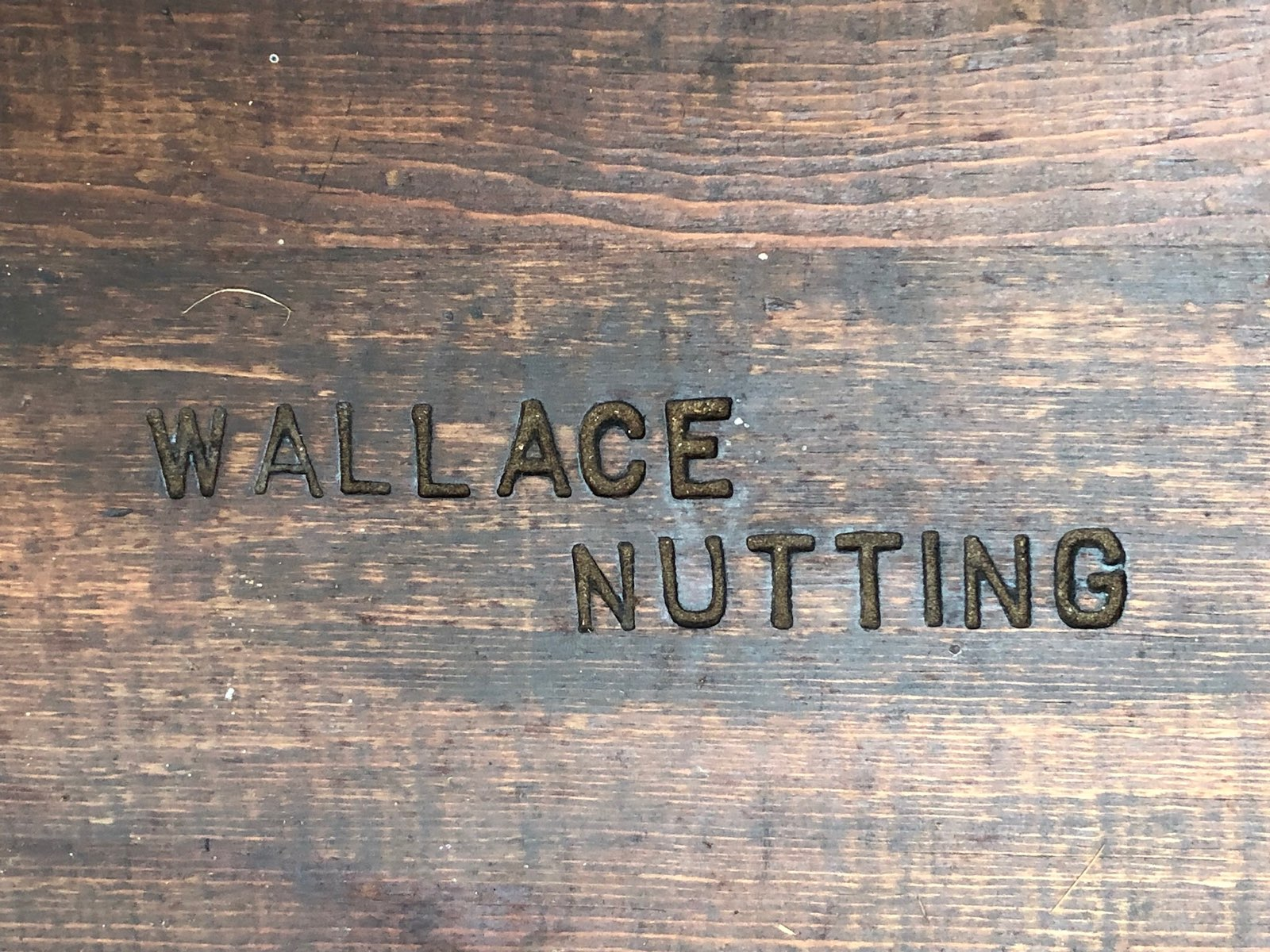 Wallace nutting table 2
