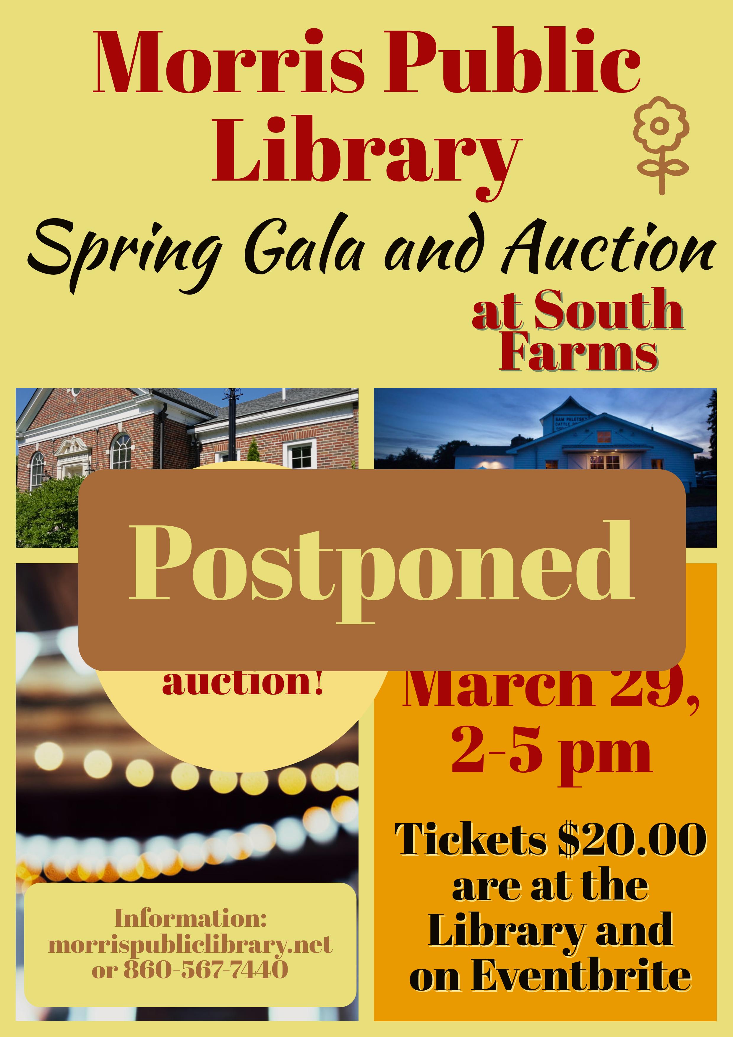 Gala Postponed